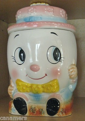 Humpty Dumpty; another cookie jar; must be on the look-out!