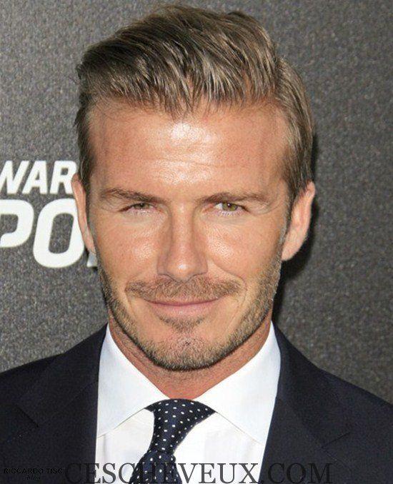Les coupes de cheveux 2,015 M. David Beckham Style Classique
