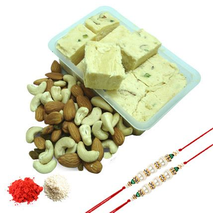 Celebrate the festival of Raksha Bandhan that describes the strong bond between brother and sister relationship with special gifts. You can buy Rakhi gifts for brother from Ferns N Petals.