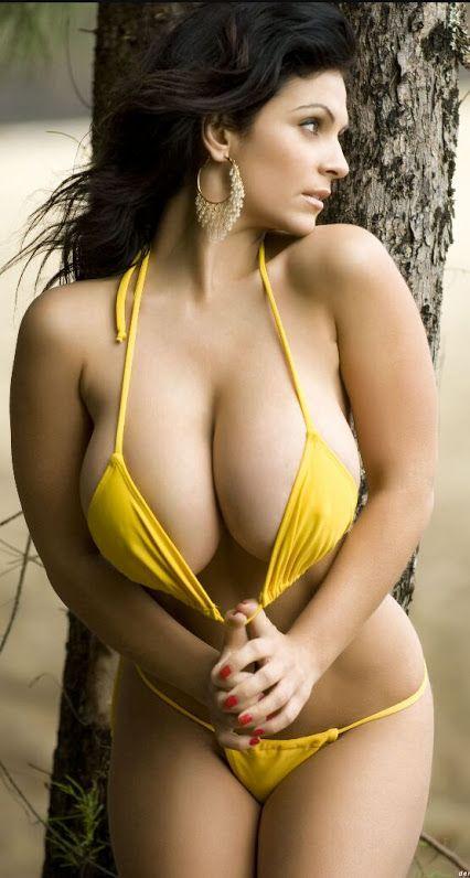 Your Girls in yellow bikini their