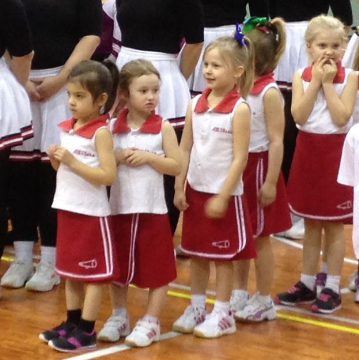 The little cheerleaders <3
