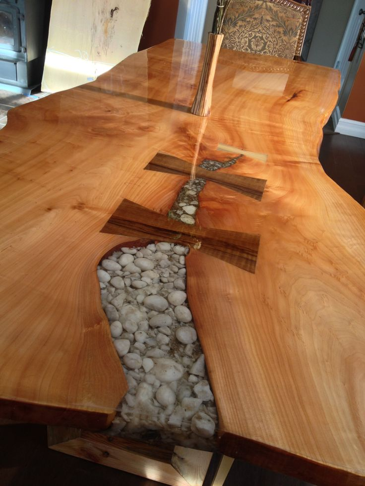 9 Best Woodwork Resin Inlay Images On Pinterest