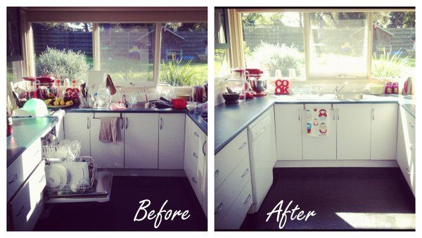 Lifeisdi licious before and after decluttering and - Declutter before and after ...
