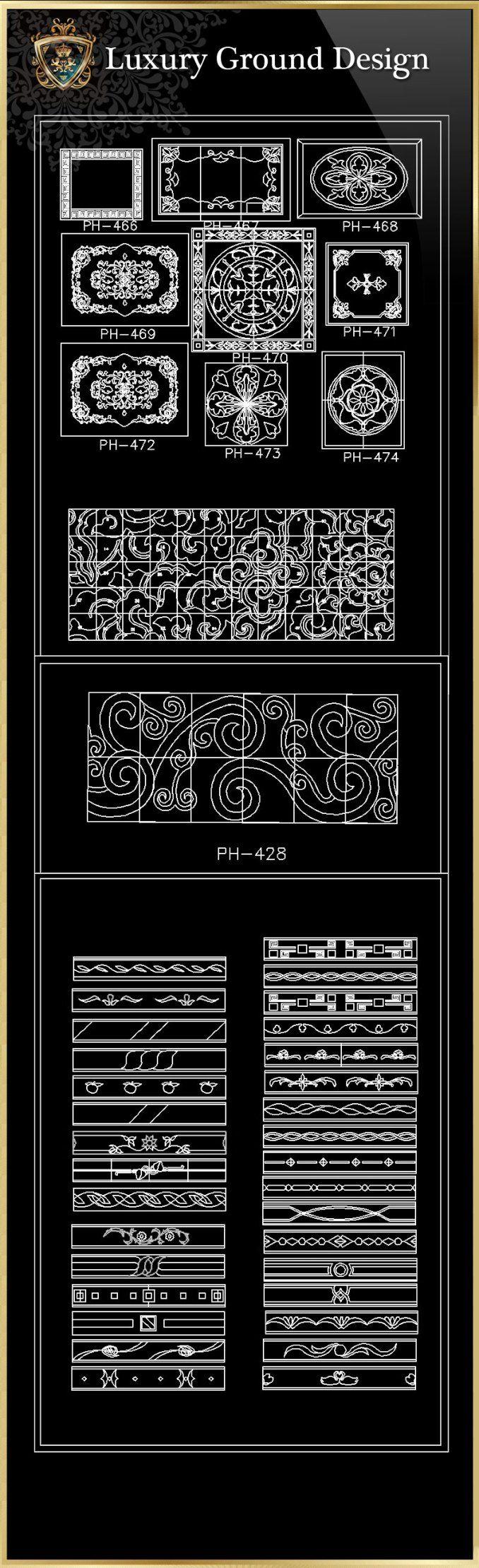 Luxus-Boden-Design-CAD-Blöcke   FREE CAD BLOCKS & ZEICHNUNGEN DOWNLOAD CENTER