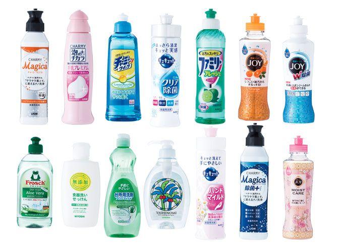 テストする女性誌 Ldk が本気でテストした食器用洗剤ベストランキング16を発表 最終結果編 洗剤 クリーナー キッチン 掃除