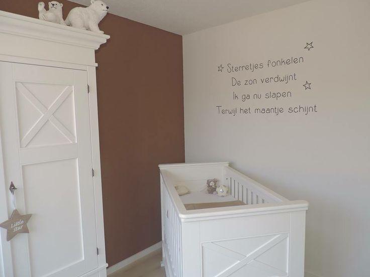 Babykamer Muurdecoratie Ideeen : Muurschildering babykamer - STRAK ...