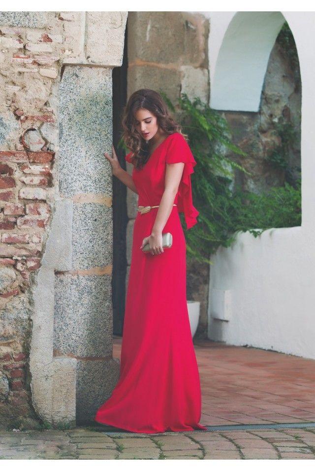 Mejores 25 imágenes de Vestidos largos celebración en Pinterest ...