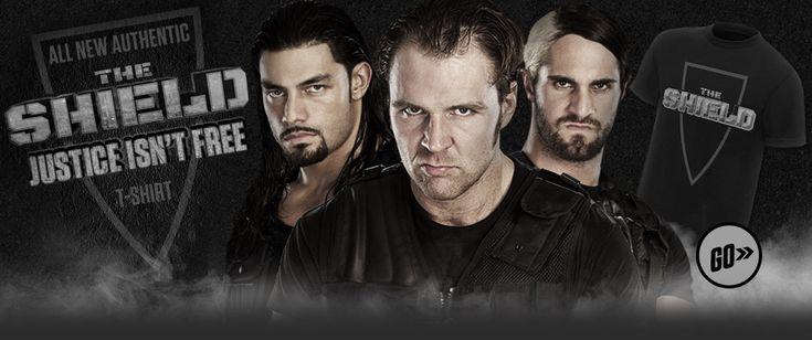 the shield wwe photos | The Shield T-Shirt - The Shield (WWE) Photo (33609555) - Fanpop ...