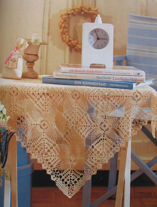 Lovely Motif tablecloth