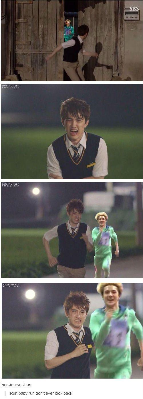 run Kyungsoo run!!! #D.O #Sehun #ExoFandom hahaha xD