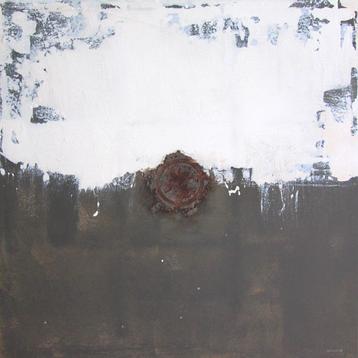 barjam (2013) 120x120cm mixed media on canvas daniel soukup