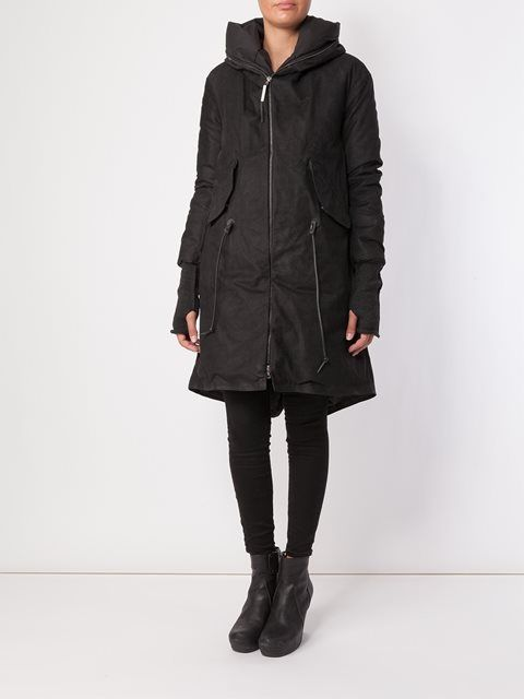 Isaac Sellam Experience padded leather coat
