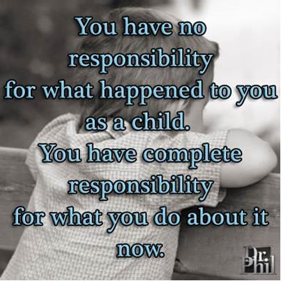 responsible for yourself