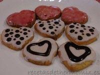 Pastas de San Valentín de Thermomix