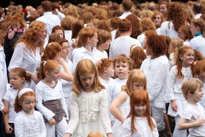 Redhead Day (Roodharigendag in Dutch) is the name of a Dutch summer festival that takes place each first weekend of September in the city of Breda, in the Netherlands. The two-day festival is a gathering of people with natural red hair.