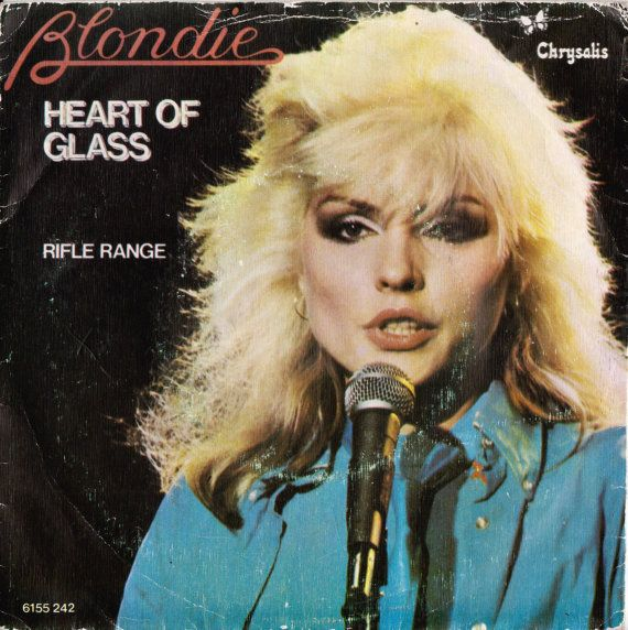 """BLONDIE Heart Of Glass 1979 Portugal Issue Rare 7"""" 45 Vinyl Record Single Debbie Harry Rock Pop 80s New Wave Music 6155242 Free S&h"""