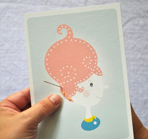 Sewing Cards for Kids