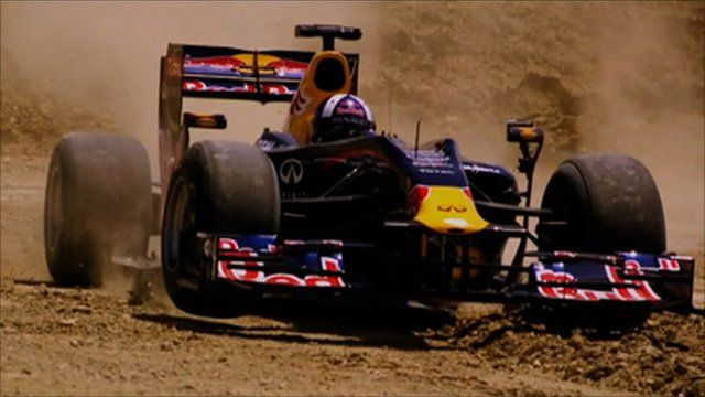 Coulthard drives off-road on new Circuit of the Americas