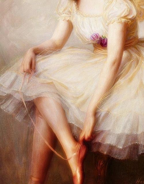 Ballerina.... Herbert James Draper (1863 - 1920) Dark Fairy Flutters: