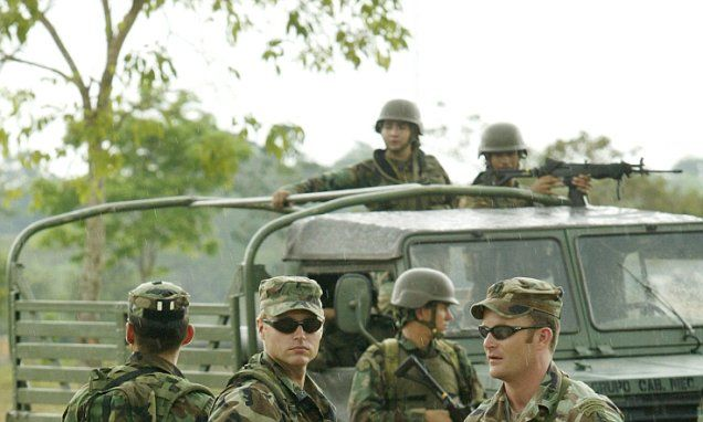 US soldiers and contractors raped 54 Colombian girls, claims report