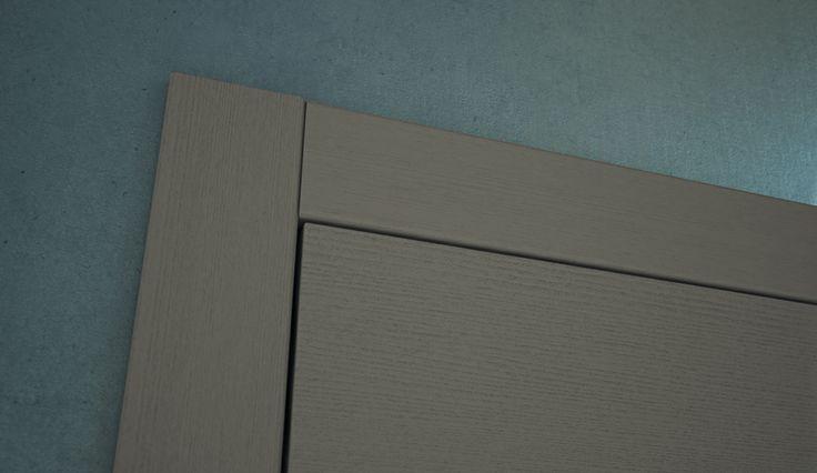 FBP porte | Collezione TINA - Dettaglio telaio esterno #fbp #porte #legno #laccata #door #wood #varnish