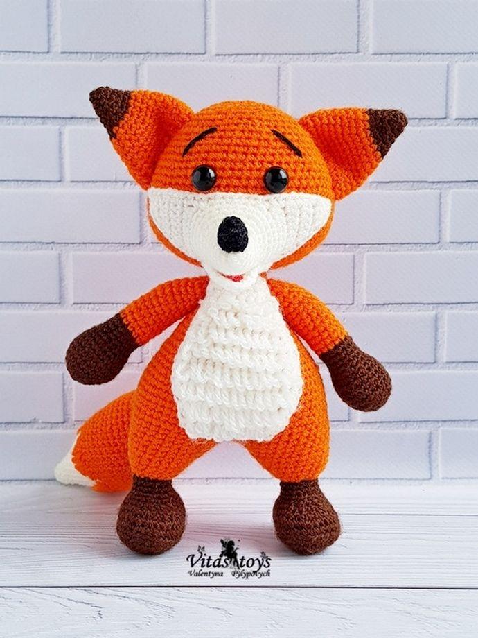 CUTE AMIGURUMI | FOX AMIGURUMI CROCHET TUTORIAL | FREE PATTERN ... | 920x690
