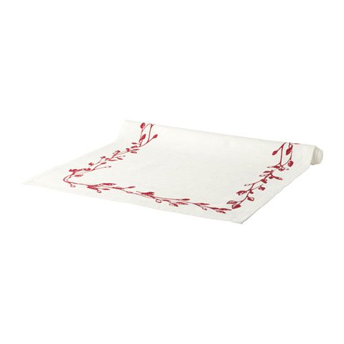 IKEA - VINTER 2016, Table-runner, Cotton/linen blend with the softness of cotton and the matte luster and firmness of linen.The runner protects the table and creates a decorative table setting.