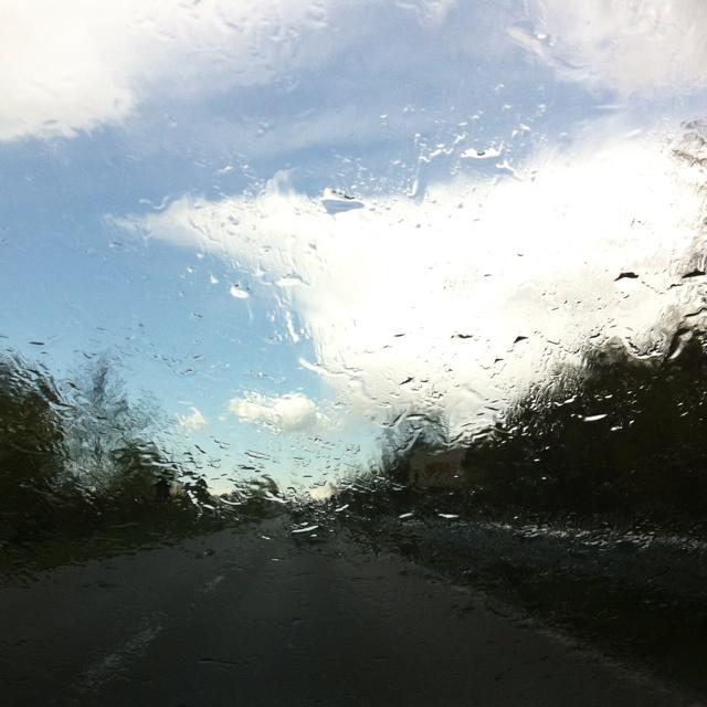 Rain from sunny skies!