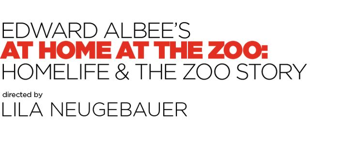 Signature Theatre - Edward Albee's at Home at the Zoo at Signature Theatre