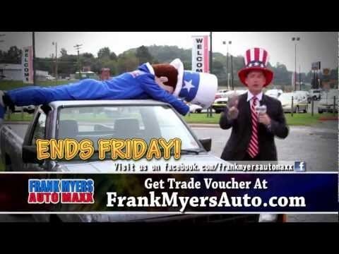 http://www.FrankMyersAuto.com - The popularity of Halloween continues to rise year after year among adults looking for a good time and wanting to escape from reality for a night. But if you're driving an old car that has become your worst nightmare, this Halloween sale might just be your chance to escape for good!    Here's why.    Local car dealer, Tracy Myers, owner of Frank Myers Auto Maxx is at it again and is giving Winston Salem residents who hate their old car a real treat... a way to…