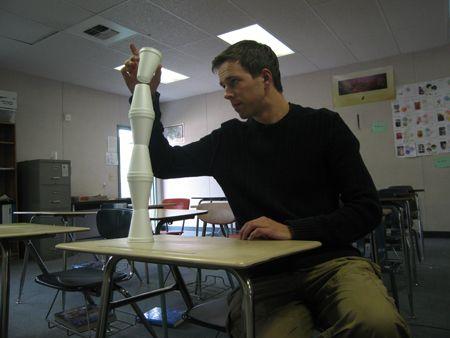 linear equation cups activity - Algebra 1