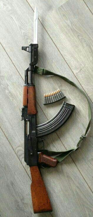 Assault Rifles AK-47.