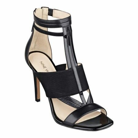 Nine West Heeled Sandals...looking just right for 2015 spring / summer.