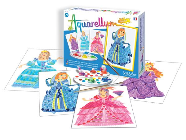 Aquarellum Junior - Princesses | Main photo (Cover)