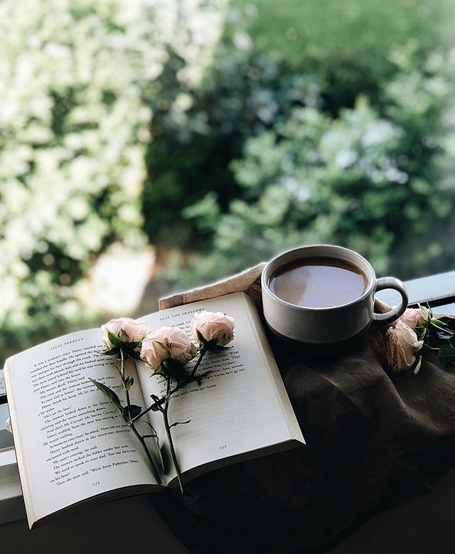 Coffee Summer Green With Images Tea And Books Coffee And