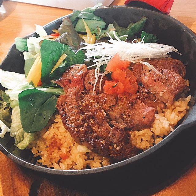 * また肉なり(´°‐°`) #肉 #lunch #ランチ #ご飯 #不二家