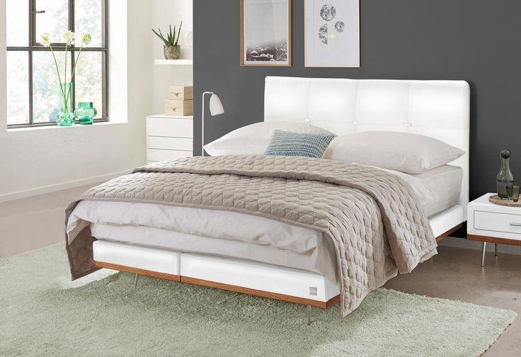 die besten 25 boxspringbett wei 180x200 ideen auf pinterest topper boxspringbett. Black Bedroom Furniture Sets. Home Design Ideas