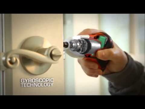 Instructional video on Black & Decker's Gyroscopic Technology changes the direction and speed based upon the motion of your wrist for increased control. The perfect tool for Furniture assembly, Hanging curtain rods, blinds and other decor, General household repair and more!