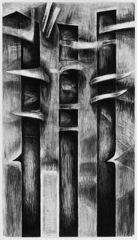 Eva Holmstedt     Bildsvit 2      Drawing