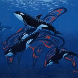 Blue Orcas