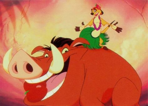 The lion king timon and pumba hula song - photo#7