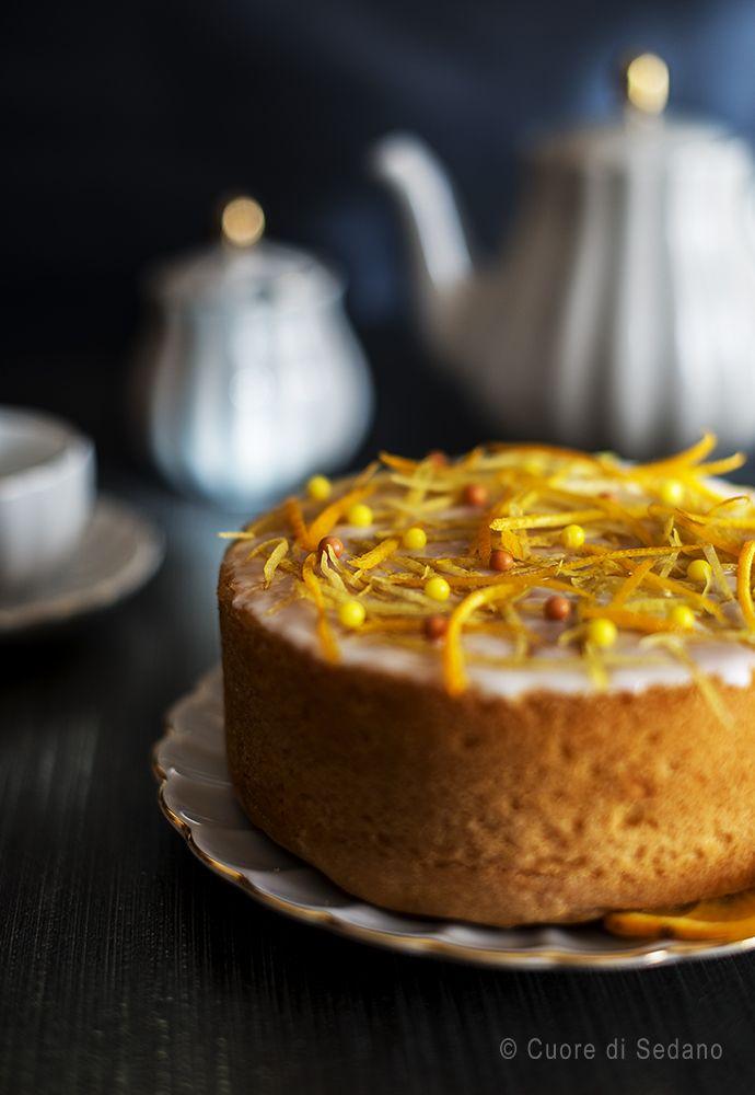 Torta al limone glassata - Cuore di Sedano