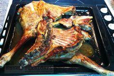 Lechazo asado al horno estilo amama Puri