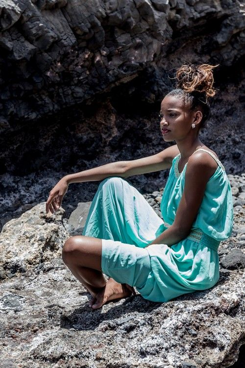 Hot Shots: To Gomes Models Hit The Cape Verdean Beaches | FashionGHANA.com: 100% African Fashion