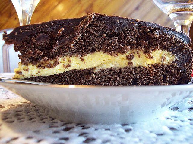 CocinaFlor.com: Torta de chocolate amargo y mousse de maracuyá