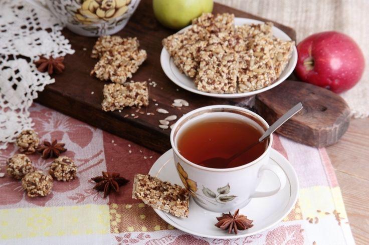 Постные конфеты из трех видов семян - Маленькие кулинарные радости
