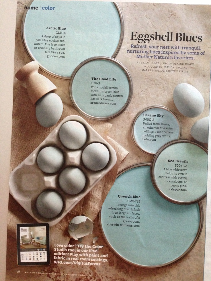 Eggshell Blues