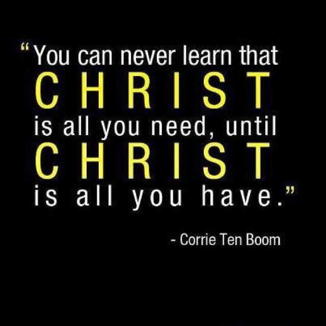 - Corrie Ten Boom More at http://ibibleverses.com
