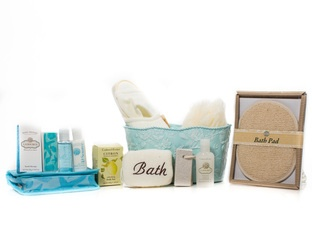 """Revitalizing La Source"" Basket Contents - Crabtree & Evelyn Products - Check out http://www.basketful.ca/spa.html for more details  $90.00 CAD"