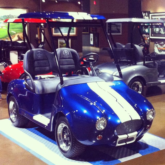Shelby Cobra Golf Carts